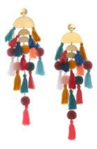 Women's Stella + Ruby Calypso Tassel Earrings