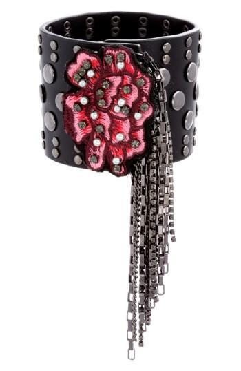 Women's Steve Madden Faux Leather Bracelet