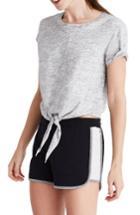Women's Madewell Offline Colorblock Shorts, Size - Black