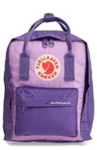 Fjallraven Arctic Fox Mini Kanken Backpack - Purple