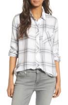 Women's Rails Hunter Plaid Shirt, Size - White