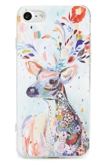 Bp. Painted Deer Iphone 6/6s/7 Case - Blue