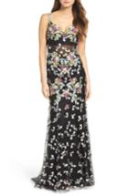 Women's Mac Duggal Embroidered Mesh Gown