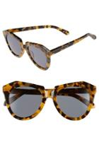 Women's Karen Walker 'number One' 50mm Sunglasses - Crazy Tortoise