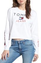Women's Tommy Jeans '90s Logo Tee - White