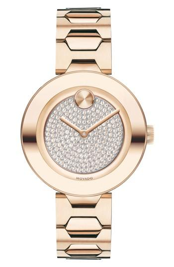 Women's Movado Bold T-bar Bracelet Watch, 32mm