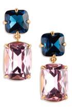 Women's J.crew Rectangle Stone Drop Earrings
