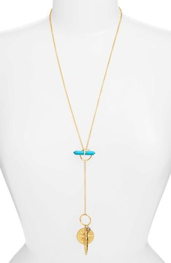 Women's Gorjana Warnderlust Charm Necklace
