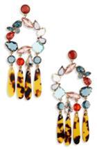 Women's J.crew Crystal & Resin Chandelier Earrings