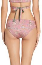 Women's Leith Reversible Hipster Bikini Bottoms - Pink