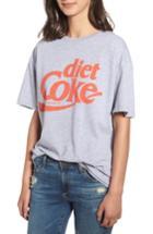 Women's Junk Food Diet Coke Tee - Grey