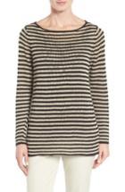 Women's Eileen Fisher Stripe Organic Linen Top