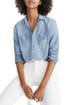 Women's Madewell Classic Ex-boyfriend Chambray Shirt