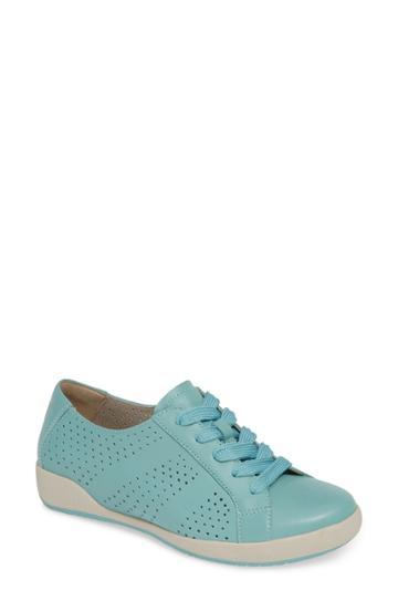 Women's Dansko Orli Sneaker .5-6us / 36eu - Blue
