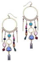 Women's Nakamol Design Statement Hoop Earrings