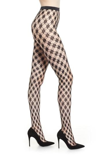 Women's Wolford Athina Tights - Black