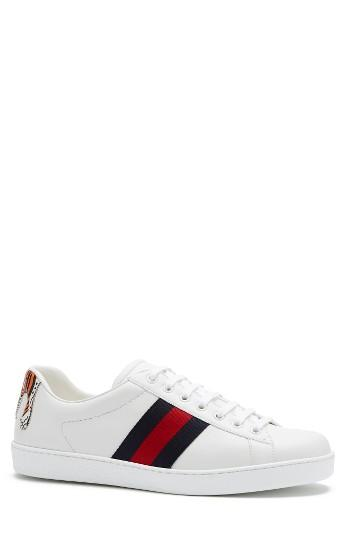 sports shoes a0bf1 9d8c2 Men s Gucci New Ace Tiger Sneaker Us   5uk - White   LookMazing