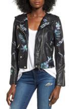 Women's Blanknyc Painted Moto Jacket - Black