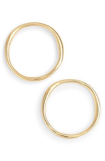 Women's Gorjana Quinn Large Hoop Earrings