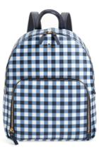 Kate Spade New York Hyde Lane Hartley Gingham Backpack - Blue