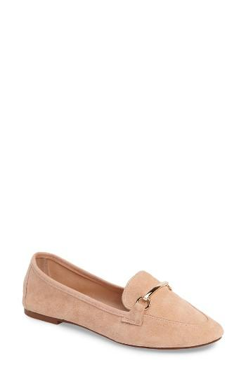 Women's Topshop Libby Softy Loafer .5us / 39eu - Beige
