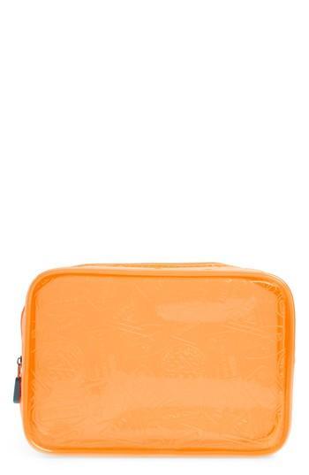 Flight 001 X-ray Neon Quart Bag - Orange