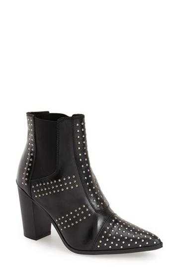 Women's Topshop Studded Pointy Toe Boot,