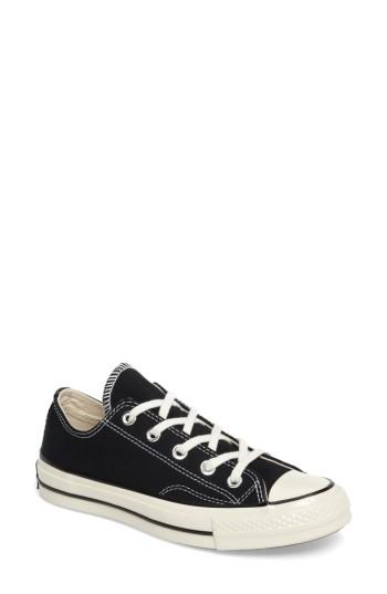 Women's Converse Chuck Taylor All Star Ox Low Top Sneaker M - Black