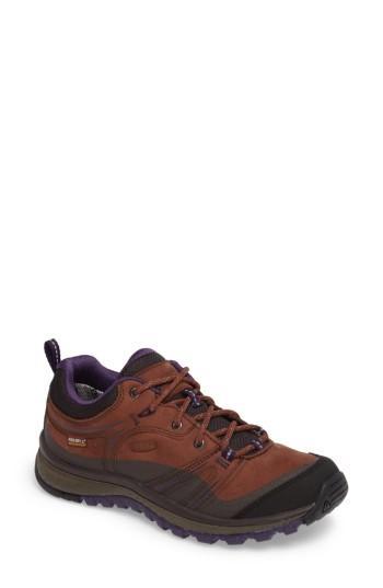 Women's Keen Terradora Waterproof Hiking Shoe M - Brown