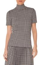 Women's Akris Punto Glen Check Knit Top