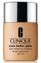 Clinique Even Better Glow Light Reflecting Makeup Broad Spectrum Spf 15 - Brulee