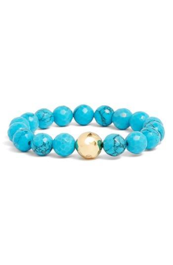 Women's Gorjana Power Gemstone Turquoise For Healing Bracelet