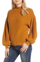 Women's Leith Blouson Sleeve Sweater - Brown