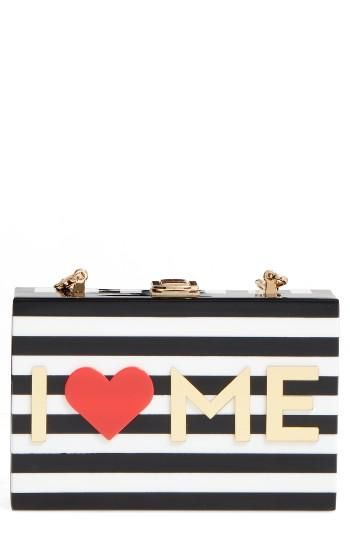 Milly I Heart Me Box Clutch -