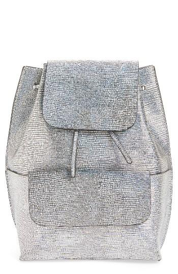 Street Level Flap Pocket Backpack -