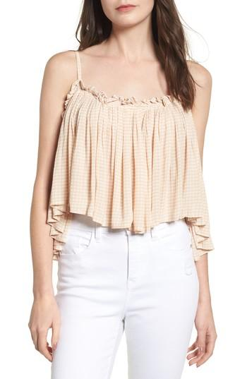 Women's Faithfull The Brand Chania Cinched Top - Ivory