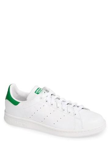 Women's Adidas 'stan Smith' Sneaker White/ Green