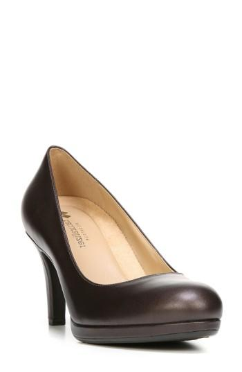 Women's Naturalizer 'michelle' Almond Toe Pump .5 N - Brown