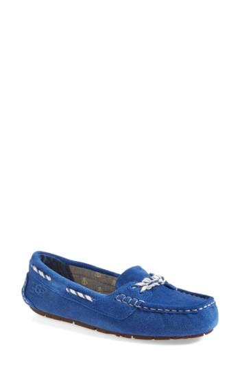 Women's Ugg 'genoa' Slipper M - Blue