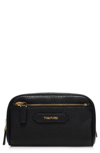 Tom Ford Small Leather Cosmetics Case, Size - No Color