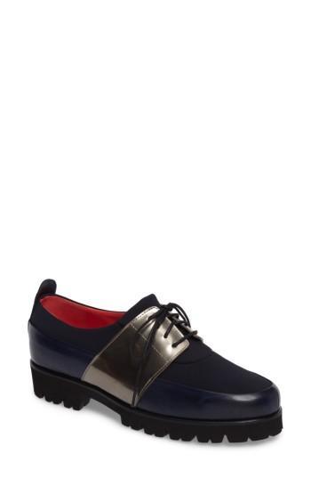 Women's Pas De Rouge Lace-up Oxford Us / 35eu - Blue
