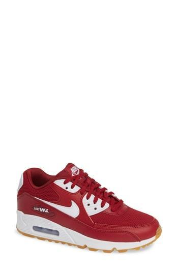 Women's Nike 'air Max 90' Sneaker .5 M - Red