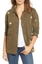 Women's Sincerely Jules Star Embroidered Jacket - Green