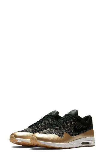 Women's Nike Air Max 1 Ultra 2.0 Flyknit Metallic Sneaker