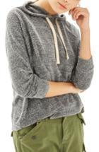 Women's Topshop Boiled Hoodie Us (fits Like 0-2) - Grey