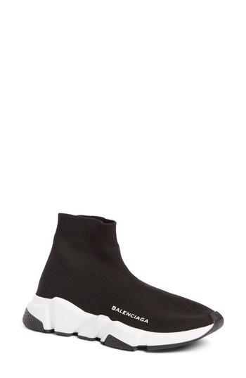 Women's Balenciaga Speed Mid Sneaker Us / 41eu - Black