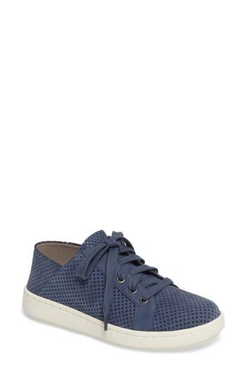 Women's Eileen Fisher Clifton Perforated Sneaker M - Blue