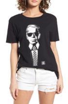 Women's Vans X Karl Lagerfeld Boyfriend Tee