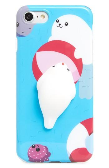 Bp. Squishy Sea Lion Iphone 7/8 Case - Blue