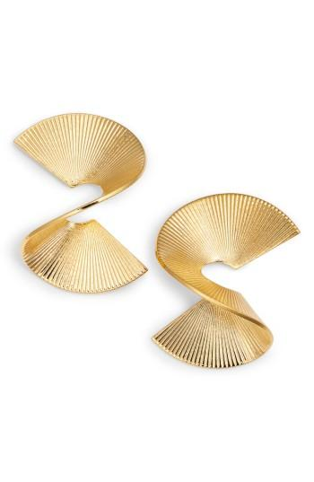 Women's Biko Solarwave Stud Earrings